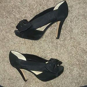 NWT Kate spade black heels